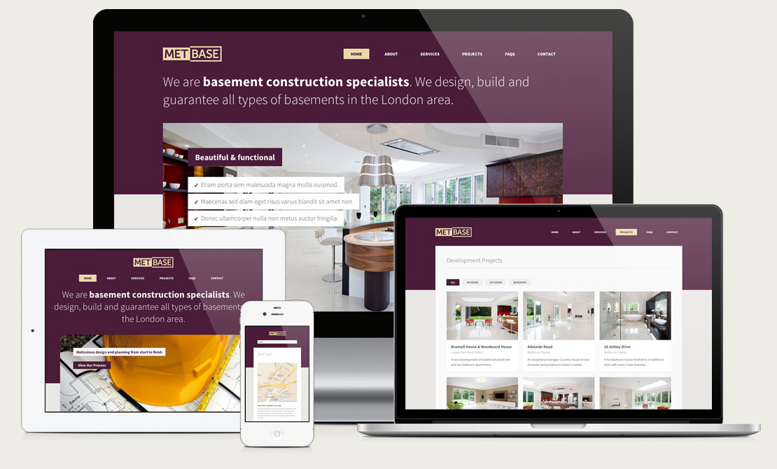 Property Developer Website Design