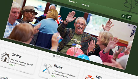 Housing Association Website Design