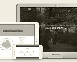 Centre for Ageing Better Microsite Design by Ross Edghill