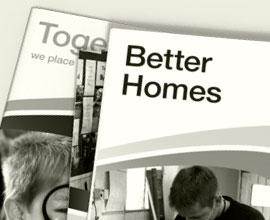 Watford Community Housing Trust Annual Report Design by Ross Edghill